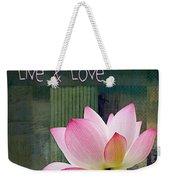 Live N Love - - 0333-15a Weekender Tote Bag