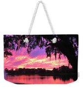 Live Oak Sunset Weekender Tote Bag