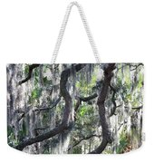 Live Oak With Spanish Moss And Palms Weekender Tote Bag