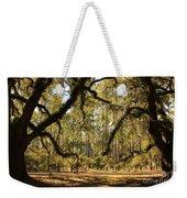 Live Oaks Silhouette Weekender Tote Bag