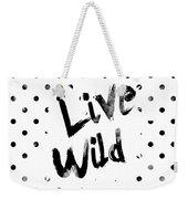 Live Wild Weekender Tote Bag