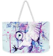 Live Without The Sunlight Owl Weekender Tote Bag