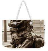 Liverpool Chinatown - Chinese Lion A Weekender Tote Bag