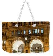 Liverpool Exchange Railway Station By Night Weekender Tote Bag