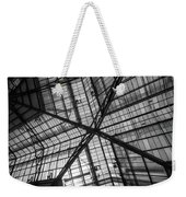 Liverpool Street Station Glass Ceiling Abstract Weekender Tote Bag