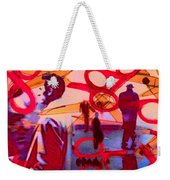 Living Cutouts Drifting Into The Spirit World/we Are All Born Asleep Weekender Tote Bag