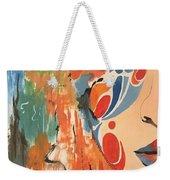 Living In Color Weekender Tote Bag