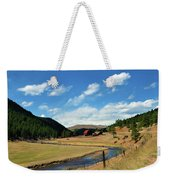Living In The Valley Weekender Tote Bag by Angelina Vick