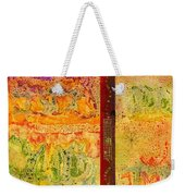 Living On Both Sides Of The Fence Weekender Tote Bag