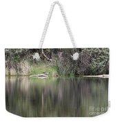 Living On The Pond Weekender Tote Bag