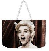Liz Fraser, Vintage British Actress Weekender Tote Bag