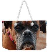 Liza The Dog Weekender Tote Bag