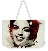 Liza Minnelli Weekender Tote Bag