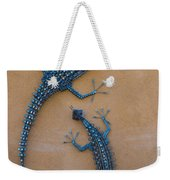 Lizard Art Weekender Tote Bag