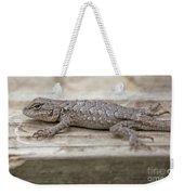 Lizard On Deck Weekender Tote Bag