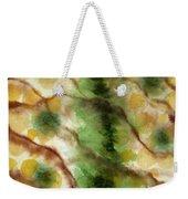 Lizard Skin Abstract Weekender Tote Bag