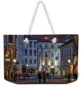 Ljubljana Night Scene - Slovenia Weekender Tote Bag