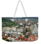 Ljubljana Slovenia With Karawanks, Kamnik Savinja, Limestone Alp Weekender Tote Bag