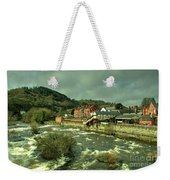 Llangollen Station  Weekender Tote Bag