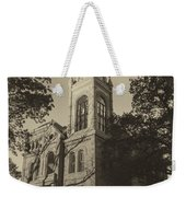Llano County Courthouse - Vintage Weekender Tote Bag