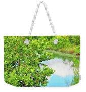 Llano River Scenic Weekender Tote Bag