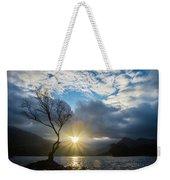 Llyn Padarn Sunburst Weekender Tote Bag