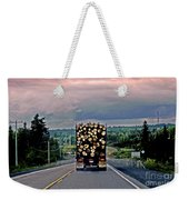 Load Of Logs Weekender Tote Bag