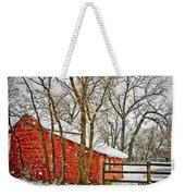 Loafing Shed Weekender Tote Bag by Marilyn Hunt