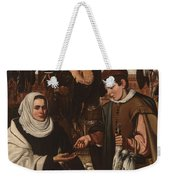 Loarte, Alejandro De Madrid , 1590 - Toledo, 1626 The Poultry Vendor 1626. Weekender Tote Bag