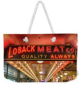 Loback Meat Co Neon Weekender Tote Bag