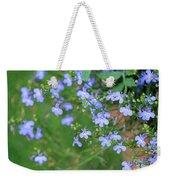 Lobelia Flowers Weekender Tote Bag