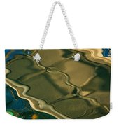 Lobster Boat Reflection Abstract #2 Weekender Tote Bag