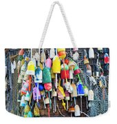 Lobster Buoys And Nets - Maine Weekender Tote Bag