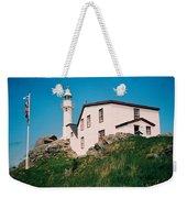 Lobster Cove Lighthouse Weekender Tote Bag