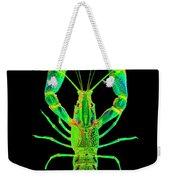 Lobster Crawfish In The Dark - Greenlime Weekender Tote Bag