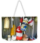Lobster Trap Buoys 1 Weekender Tote Bag