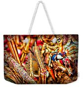 Lobster Up Close Weekender Tote Bag