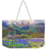 Local Color Weekender Tote Bag by Talya Johnson