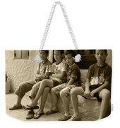 Local Gossip Weekender Tote Bag
