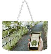 Location-based-apps-mobiloitte Weekender Tote Bag