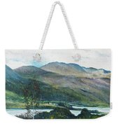 Loch Dun Luiche Donegal Ireland 2916 Weekender Tote Bag