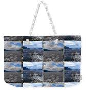 Loch Ness In Squares Weekender Tote Bag