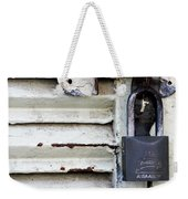 Lock City Weekender Tote Bag