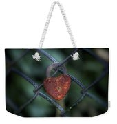 Lock Of Love Weekender Tote Bag