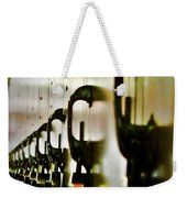 Lock Up Weekender Tote Bag