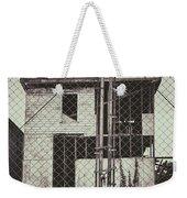 Locked Fence Weekender Tote Bag