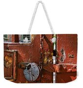 Locked Gate Weekender Tote Bag