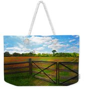 Locked Up Beauty Weekender Tote Bag