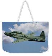 Lockheed F-80  Weekender Tote Bag