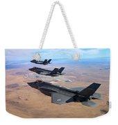 Lockheed Martin F-35 Lightning II Weekender Tote Bag